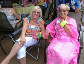 Two bright ladies
