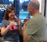 Anne-Marie's talking hands with Brian