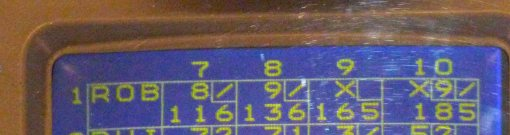 High score for Robert in game one
