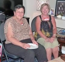 Two happy ladies